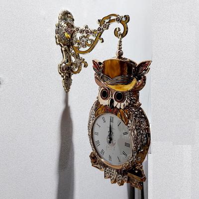 황금열쇠부엉이양면벽시계(24)