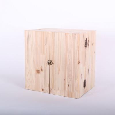 삼나무 화장품정리함 양문형 대