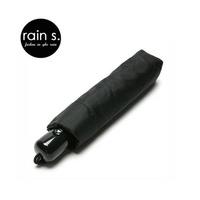 rain s.레인스 튼튼한 패션우산 3단 자동 블랙