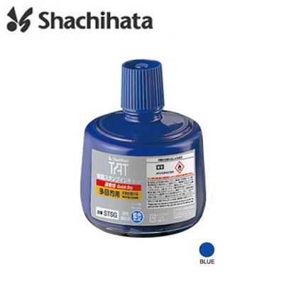 비원오피스 사치하타 다목적용 STSG-3 불멸잉크 330ml 블루 1개입