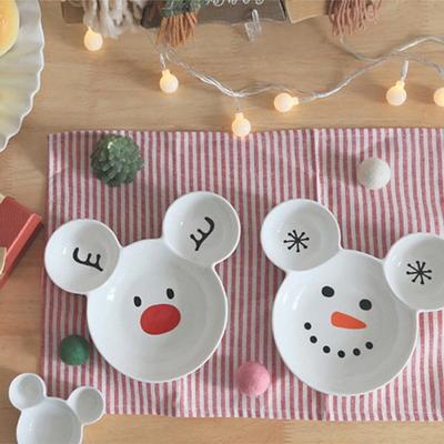 곰돌이 접시 크리스마스 에디션