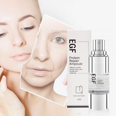 페이스팩토리 피부관리 톤업 EGF 프로테인 리페어 앰플 15ml
