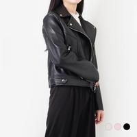 부루앤쥬디 오스카 레더 재킷 WGKC3JK001