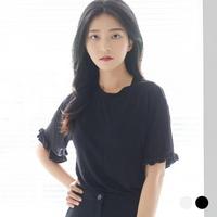 부루앤쥬디P2 프릴소매 티셔츠 P1JE2TS002