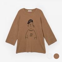 부루앤쥬디 프라규 티셔츠 P1KG5TG001