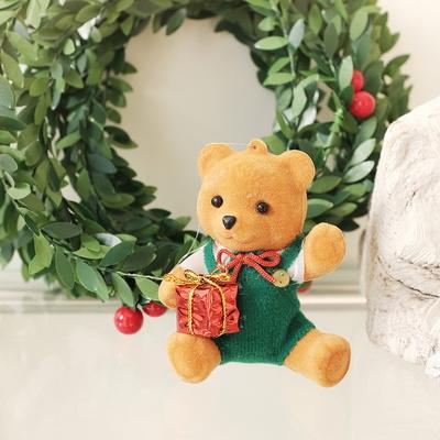 플리징 곰돌이 크리스마스 오너먼트