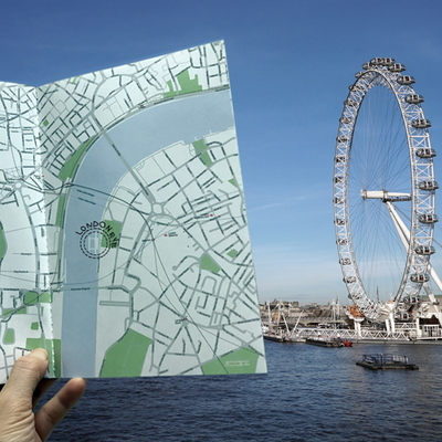 MAP BOOK- LONDON