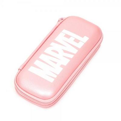 MV0408 마블 라이트 2단 EVA필통-핑크
