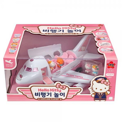 헬로키티 비행기 놀이