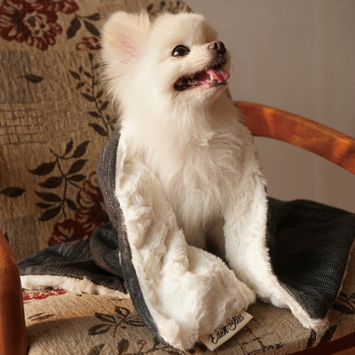 edenbliss 프렌들리 블랭킷 멜란지그레이-강아지 고양이 담요 이불