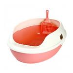 마칼 거름망 화장실 핑크