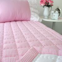 체크리플 패드 - Pink