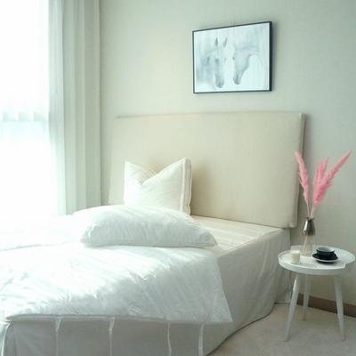 심플 슬림 침대 헤드보드 6color