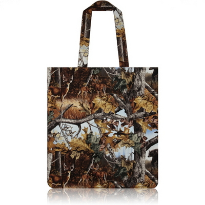 nother Wildlife Camouflage Flat Tote Bag (Animals)