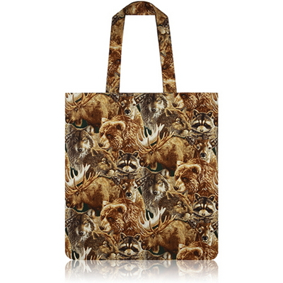 nother Forest Animals Flat Tote Bag