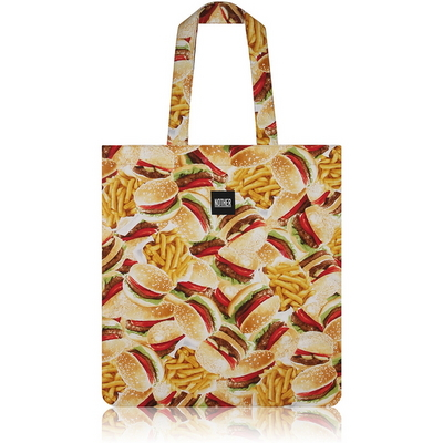 nother Buger and Fries Flat Tote Bag