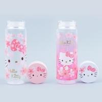 헬로키티 벚꽃 클리어 보틀 (500ml)(2design)