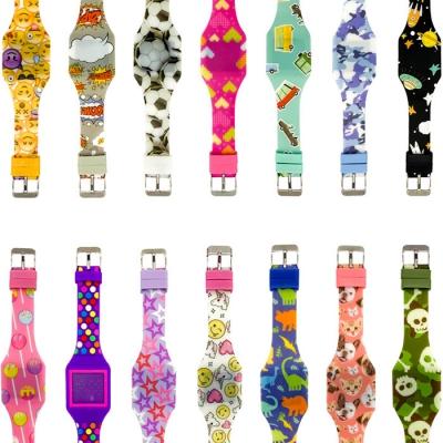 키더스 LED 어린이 시계 (랜덤발송)