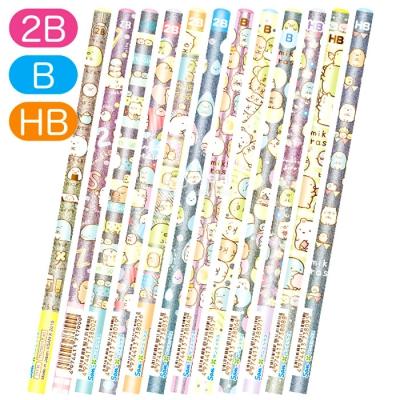 스밋코구라시 토탈 12P 연필세트 (HB/B/2B)