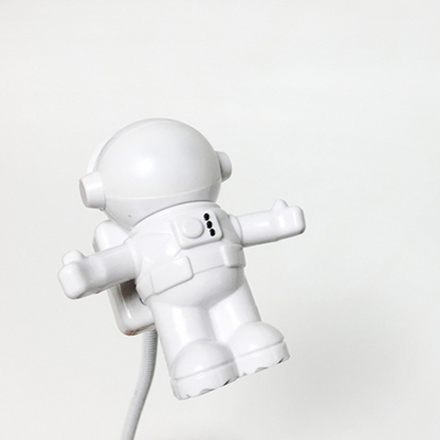 우주인 usb 램프