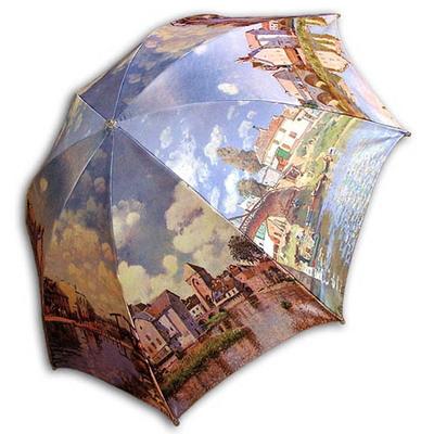 ARTemis 알프레드 시슬레-풍경 UV자외선차단 양산
