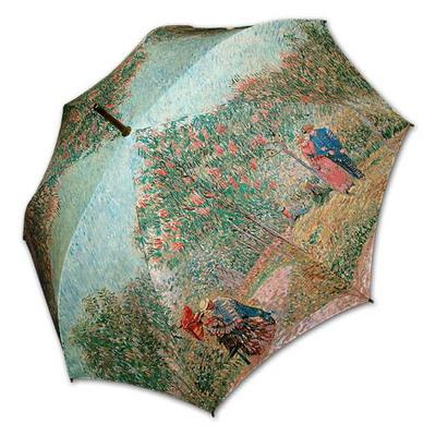 명화_고흐-연인이 있는 정원(W) 자동우산