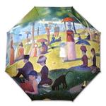 명화_쇠라-그랑드자트섬의 일요일오후 3단자동우산