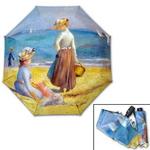 명화_르누아르-해변의 여인들 3단자동우산