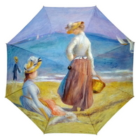 명화_르누아르-해변의 여인들(W) 자동우산