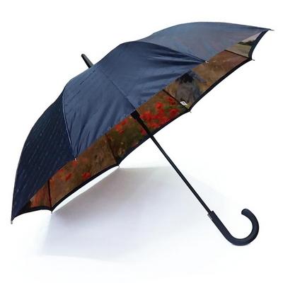 명화_우블리-모네 양귀비들판 65이중 우산양산겸용 자동우산