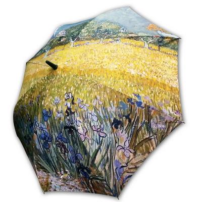 명화_우블리-고흐 아를의 꽃밭 65우산양산겸용 멜빵자동우산
