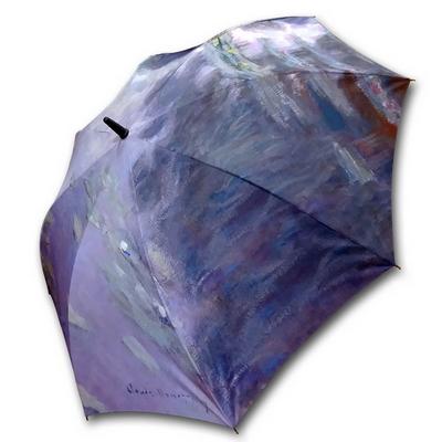 명화_우블리-모네 수련 65우산양산겸용 멜빵자동우산