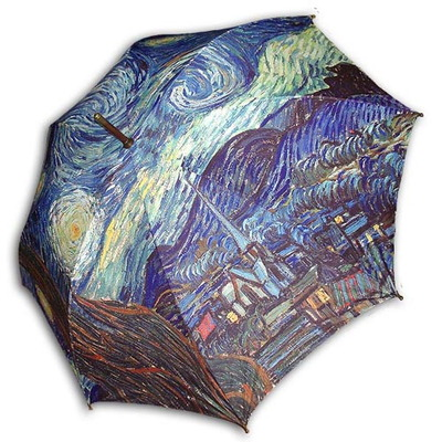 (ART) 고흐_별이 빛나는 밤2(W) 자동 우산