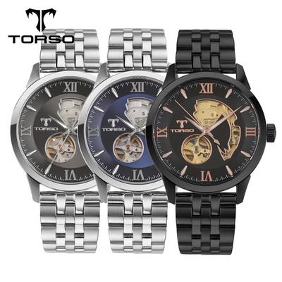 TORSO 토르소 스켈레톤2 오토매틱 T27 (가죽D버클 포함) 색상 택1