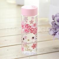 헬로키티 벚꽃클리어보틀(핑크)_WB-367