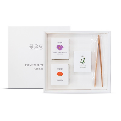 꽃차 3종 선물세트