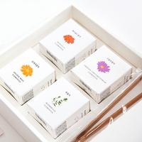 꽃차 4종 선물세트