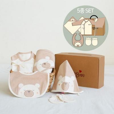 오가닉 베베출산 5종세트(선물박스포함)