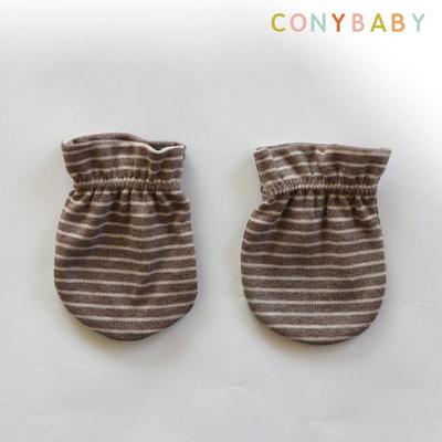 [CONY]오가닉줄무늬손싸개세트(신생아손싸개)