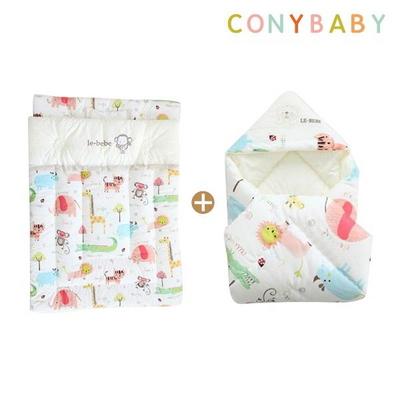 [CONY]오가닉사계절겉싸개이불요세트(신생아차렵이불)