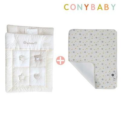 [CONY]오가닉꿀잠차렵방수이불세트(꿀잠+방수패드달과별)