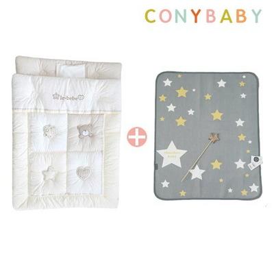 [CONY]오가닉꿀잠차렵방수이불세트(꿀잠+방수패드스타
