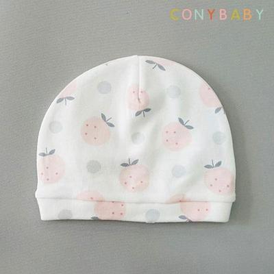 [CONY]순면 딸기신생아모자
