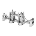 3D 메탈퍼즐 미니 런던 타워 브리지-실버