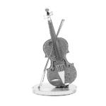 3D 메탈퍼즐 미니 바이올린-실버