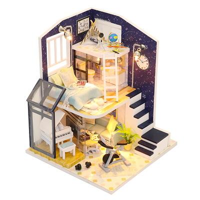 DIY 미니어처 하우스 만들기 - 2층집 04