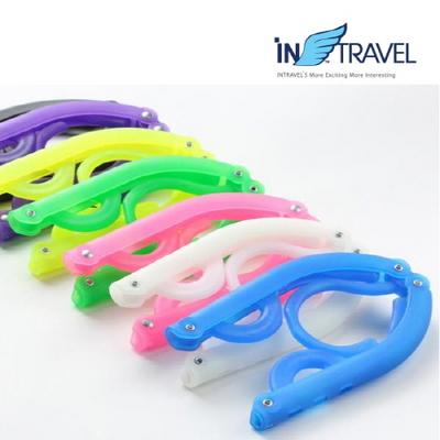 인트래블 휴대용 접이식 옷걸이 NO.1177