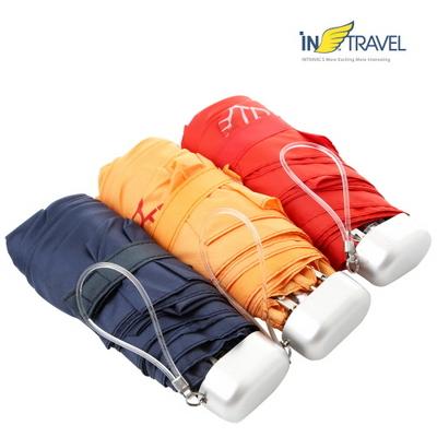 인트래블 미니우산/여행용3단우산 NO.1099
