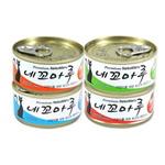 네꼬마루 고양이캔 4종 24개 1BOX