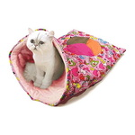 쏘아베 고양이 캣닙 슬립하우스 핑크